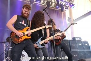 Leatherwolf beim Rock Hard Festival