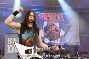 Traitor beim Rock Hard Festival